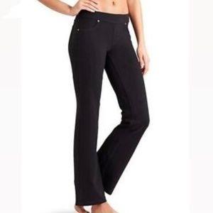 Athleta Bettona Straight Edition Pants black  Small